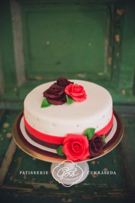 136. Marcipános torta