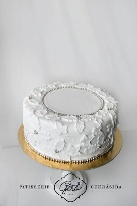 225. Alkalmi karácsonyi torta