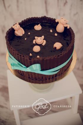 Dagonyáz malackák torta