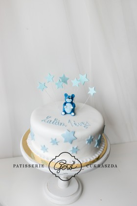 Csillagos macis torta