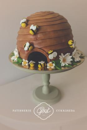 Méhkas torta