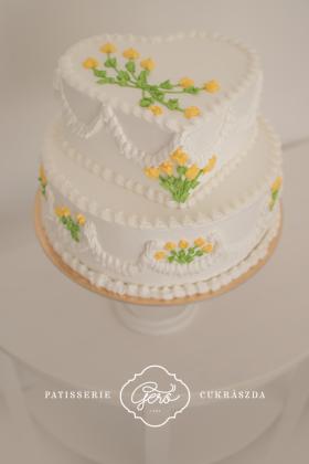 30. Esküvői torta