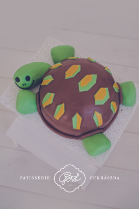 389. Teknős torta