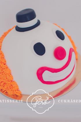 410. Bohóc torta