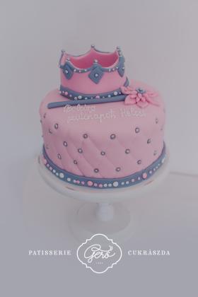 Királylány torta