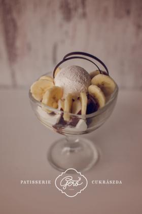 Banán Lidó fagylalt kehely