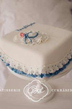 218. Keresztelői torta