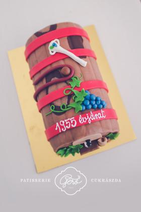 179. Hordó torta