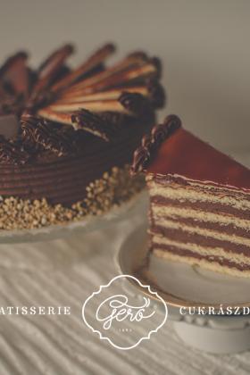 Nosztalgia torta szelet