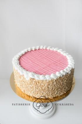 537. Puncskocka torta